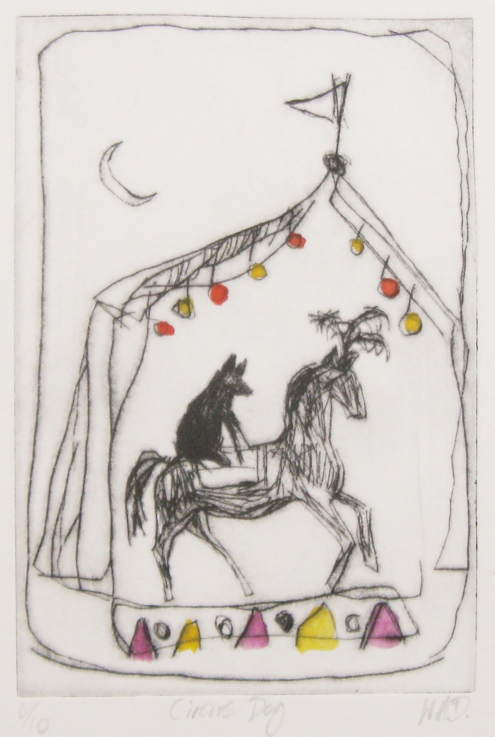 Circus Dog by Wendy McDonald