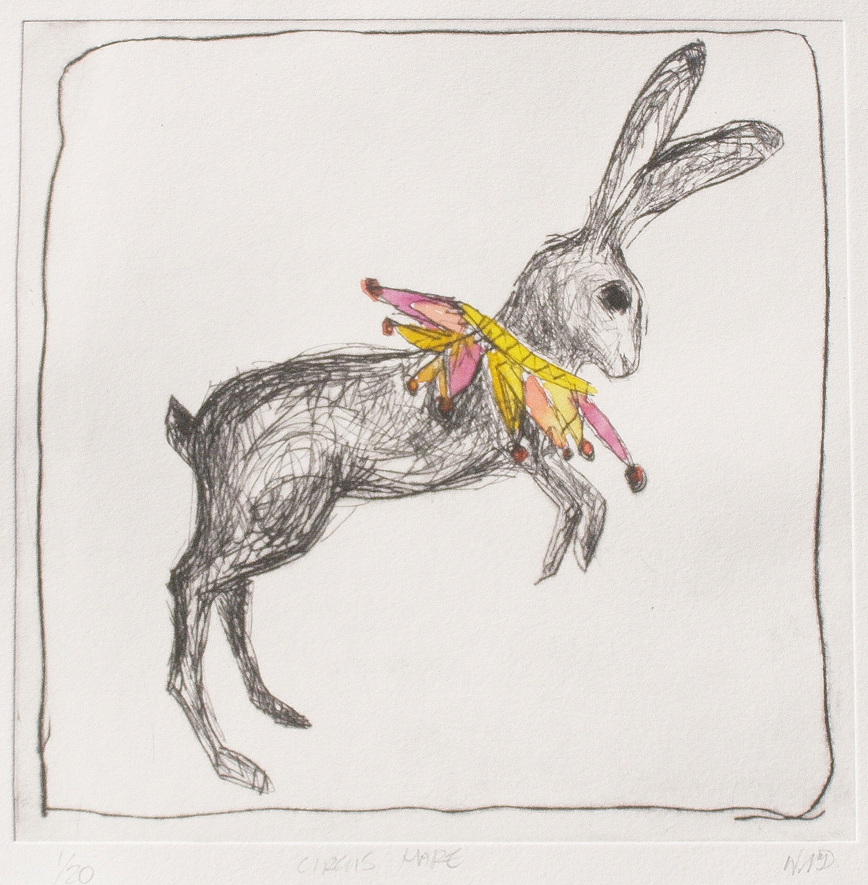Circus Hare by Wendy McDonald