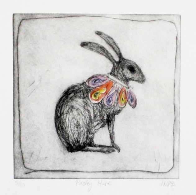 Paisley Hare by Wendy McDonald