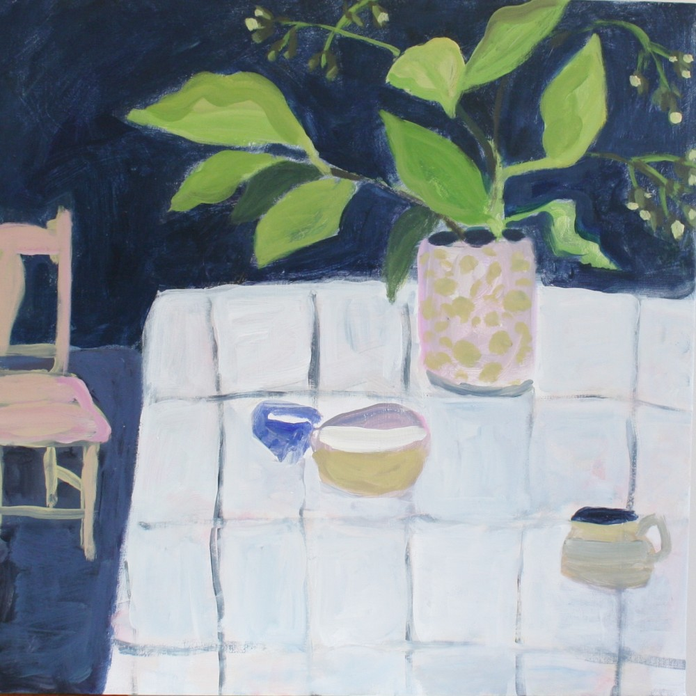 Studio with Blue 2 by Wendy McDonald