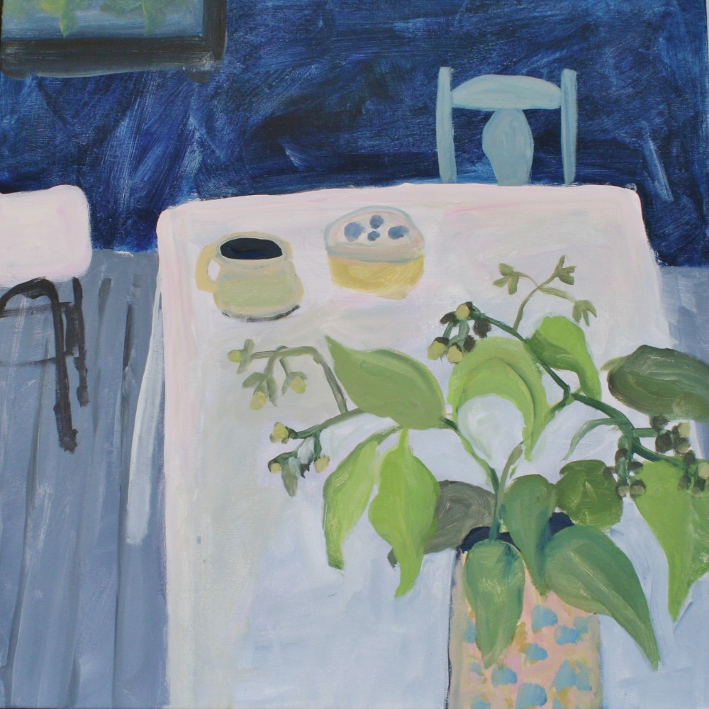 Studio with Blue by Wendy McDonald
